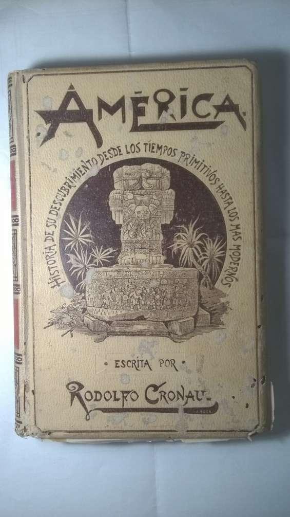 Vendo libro america año 1829