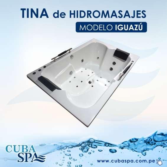 Tina hidromasaje rectangular jacuzzi 1.80 x 1.20 x 47 cm