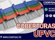 upvc para techos y muros