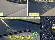 Venta de asfalto en frio saco de 25y50 kilos