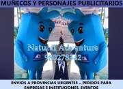 MUÑECOS PUBLICITARIOS NE LIMA, PERSONAJES CORPORATIVOS, MASCOTAS PERSONALIZADAS