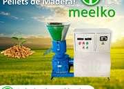 Peletizadora Electrica Madera MEELKO MKFD300C