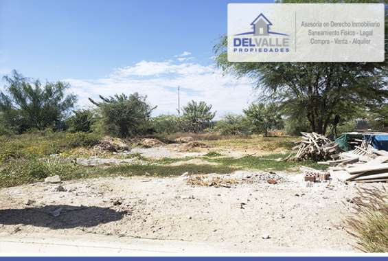 Se vende terreno en piura   urb. miraflores country club - 212.29 m2.