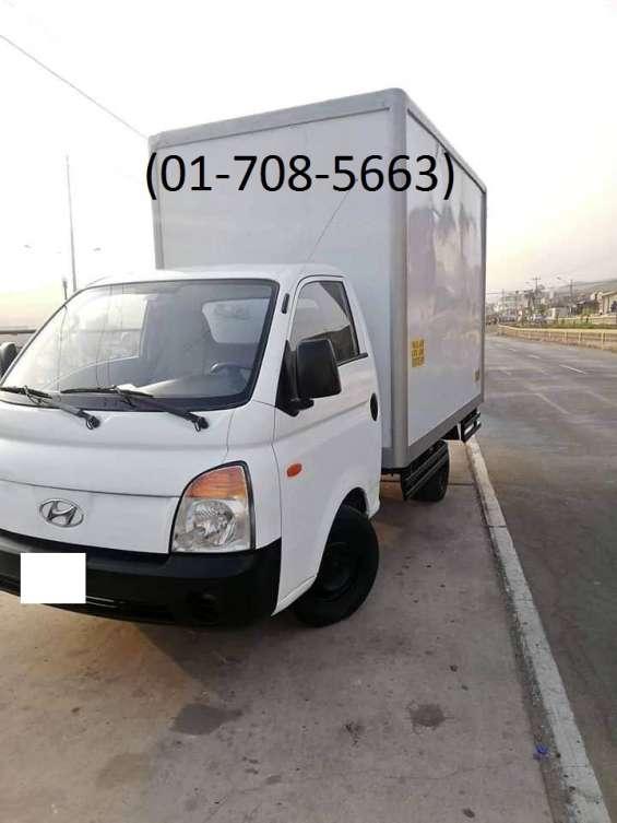 Hyundai h100 2010 con furgon