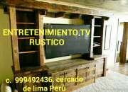 Centro entretenimiento TV y muebles Bares