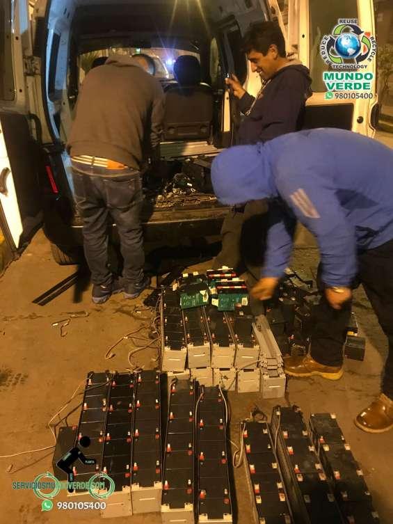 Compramos baterias usadas