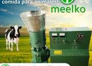 Peletizadora Modelo MKFD400C MEELKO eléctrica