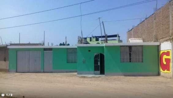 Por salud se vende acogedora casa huerta en ica, us$ 65000
