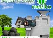 1 Prensa de Briquetas mkbc08 MEELKO