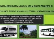 Buses, Mini Buses, Coaster, Van y Mucho Mas Para Ti