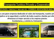 Transporte Turístico Privado y Corporativo