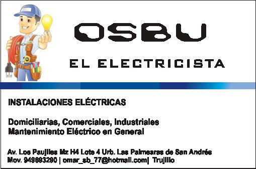 Tec. electricista osbu