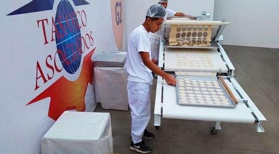 Maquina galletera - galleta de agua - aumenta tu produccion en un 100%