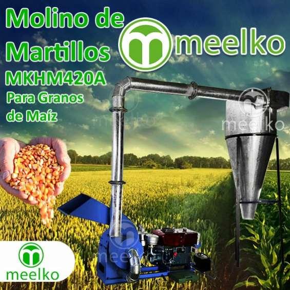 Molino mkhm420a de martillos meelko