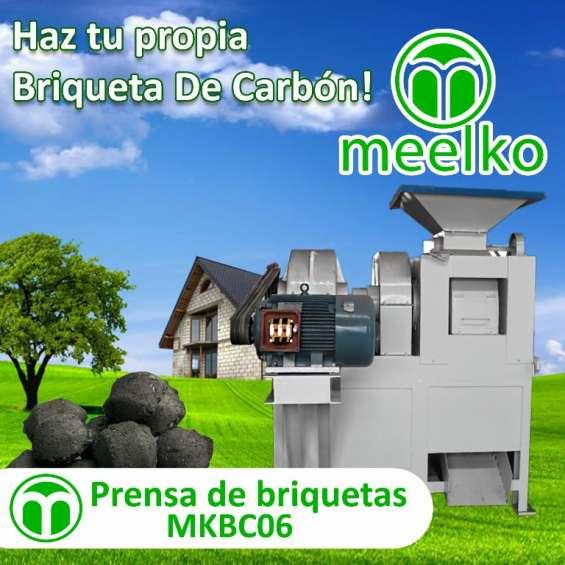 Prensa mkbc06 de briquetas meelko