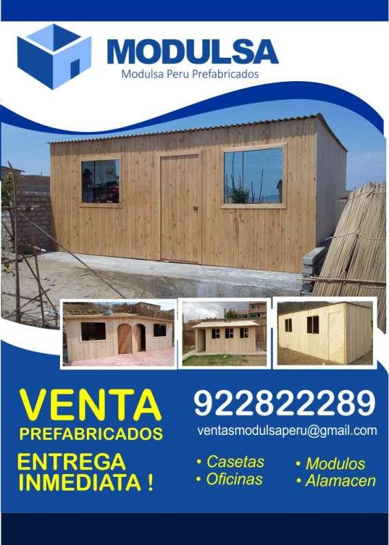 Construcciones prefabricadas de madera