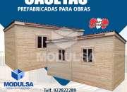 MODULOS PREFABRICADOS PARA CONSTRUCCIONES TEMPORALES EN LIMA