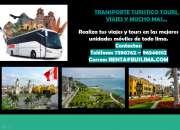 TRANSPORTE TURISTICO TOURS, VIAJES Y MUCHO MAS…