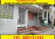 Se Vende hermosa casa en Pamplona Av San Luis