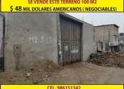 Se vende terreno en la Av Ramon Castilla en Villa Maria de lTriunfo