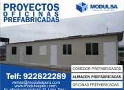 caseta casas cuartos oficinas prefabricadas para obras en Lima