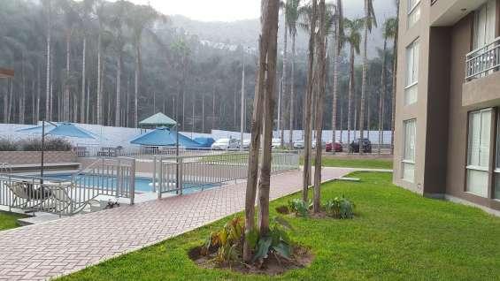 Cond el encanto de ñaña 3dorm chosica 85m2 patio interior piscina