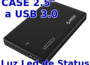 Adaptador Case Orico de SATA a USB 3.0 Para Discos Duros de Laptop PS4 SSD PS3