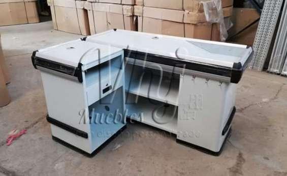 Gondolas exhibidoras-muebles de melamina y metálicos -locker archivadores