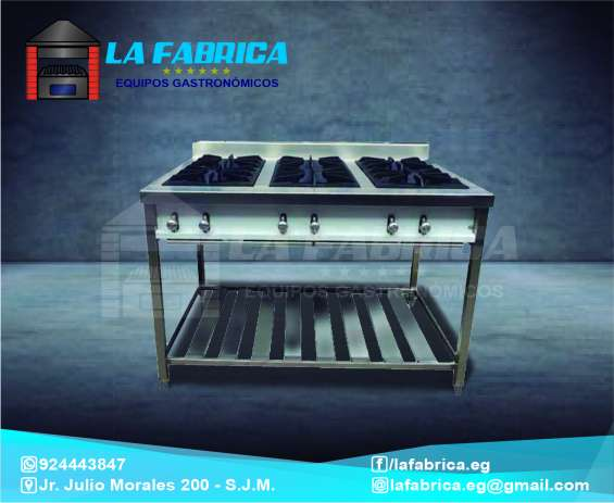 Cocinas lineales industriales la fábrica equipos gastronómicos