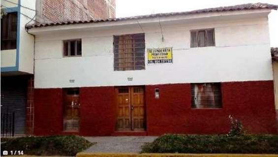 Se vende casa - san sebastian - dpto cusco
