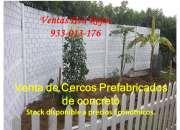 Venta de Cercos Prefabricados de Concreto en Cañete