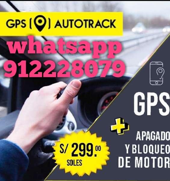 Gps autotrack monitoreo