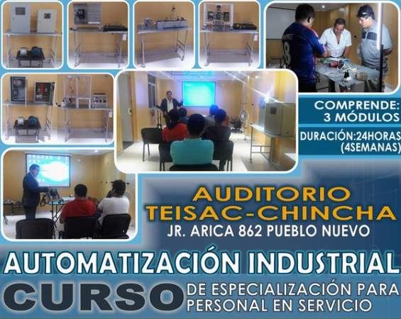Automatizacion e instrumentacion industrial-cursos