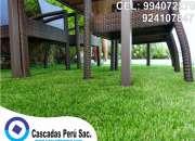 GRASS SINTÉTICO - DISEÑO DE INTERIORES