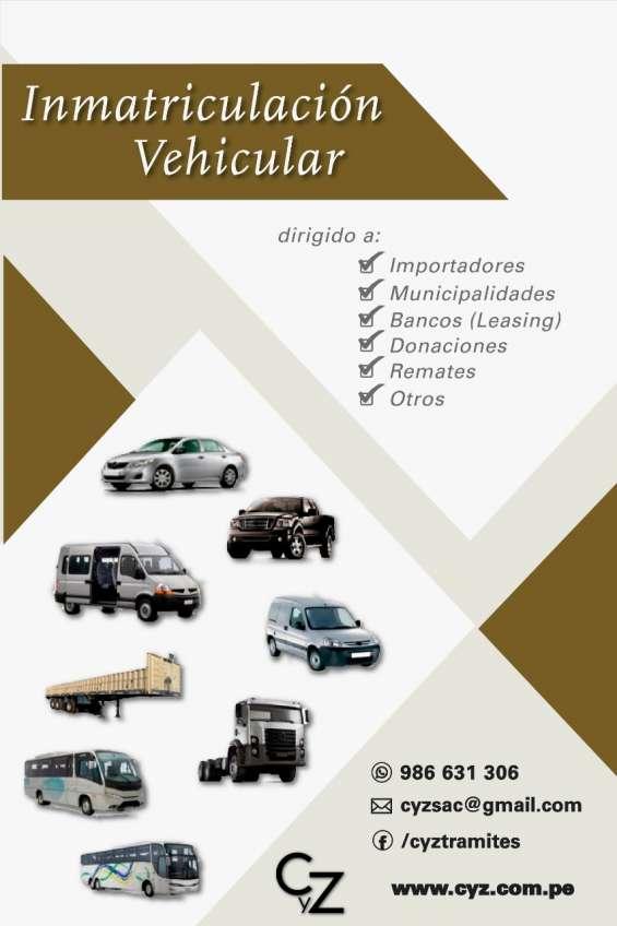 Asesoría de trámites vehiculares y para inmuebles