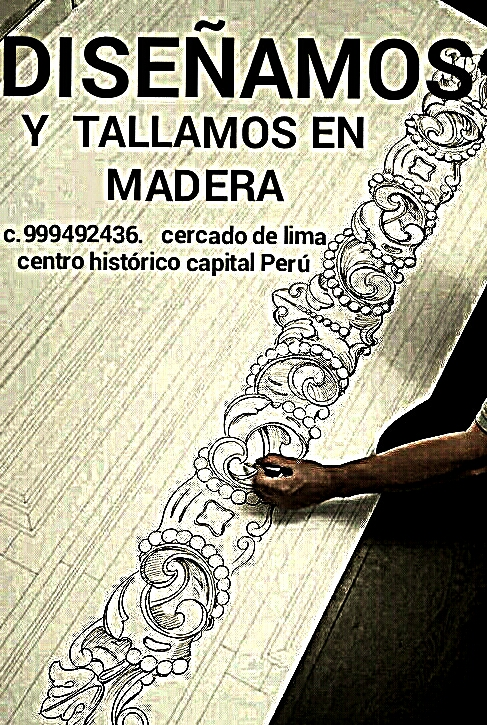 Tallados y diseño en madera estilos clasicos colonial lima perú