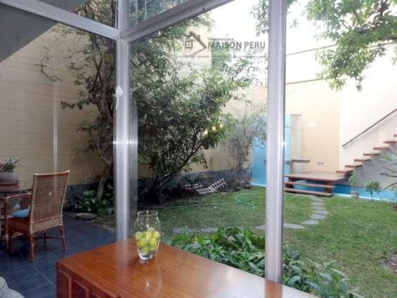 Fotos de Alquilo casa 1er piso con jardín 250 m2 surco (52-16-f-b 10