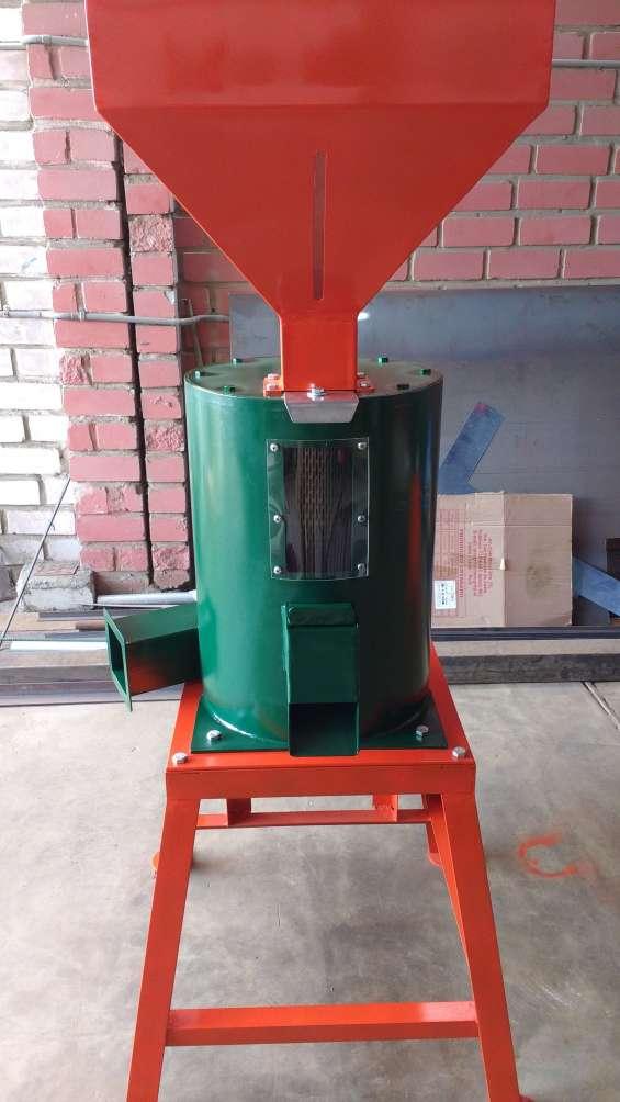 Maquina peladora de trigo y cebada