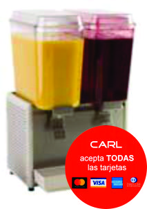 Refresquera dispensador de bebidas frias crathco