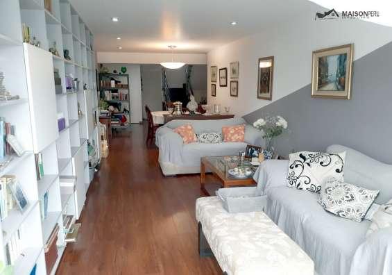 Vendo pent-house 264 m2 a. comunes san isidro (677-r-k