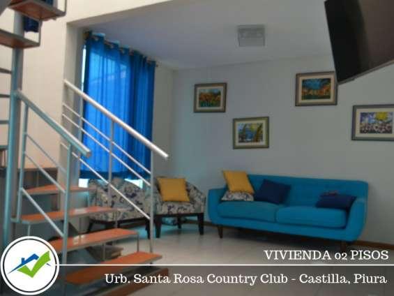 Fotos de Venta vivienda 02 pisos - urb. santa rosa country club, piura 1