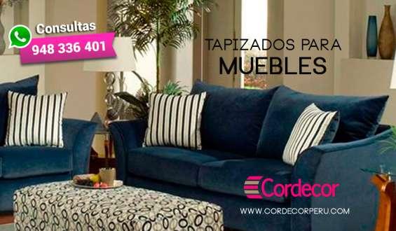 Cordecorperu –tapizados de muebles en ate