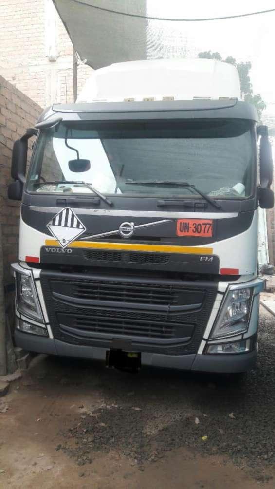 Vendo tracto camion volvo fm 450 2018
