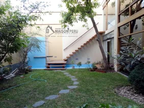 Fotos de Alquilo casa 1er piso con jardín 250 m2 surco (52-16.q-p 5