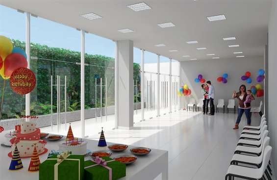 Salon grande  de usos multiples en 1er piso