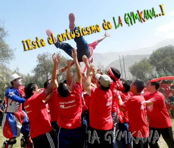 Fotos de Eventos de integración, eventos corporativos, campeonatos, gymkanas, jincanas y  5