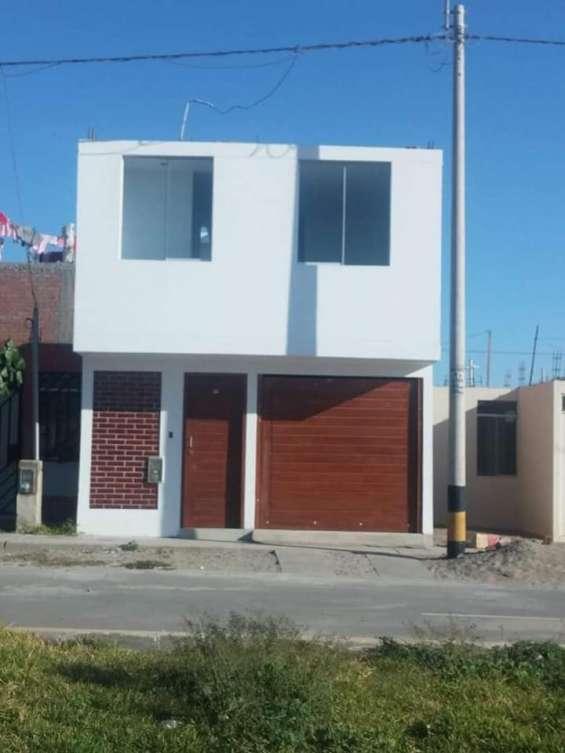 Vendo hermosa casa en estreno en ica