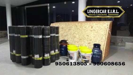 Venta e instalacion de manto asfaltico a nivel nacional - 950613805
