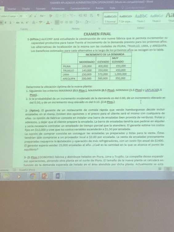 Clases de estadistica, fisica, qumica, matematica financiera, economia
