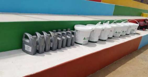 Fotos de Instalación de grass sintético deportivo 3